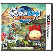 Scribblenauts Unlimited    NINTENDO 3DS