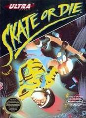 Skate or Die! DMG LABEL    NINTENDO ENTERTAINMENT SYSTEM