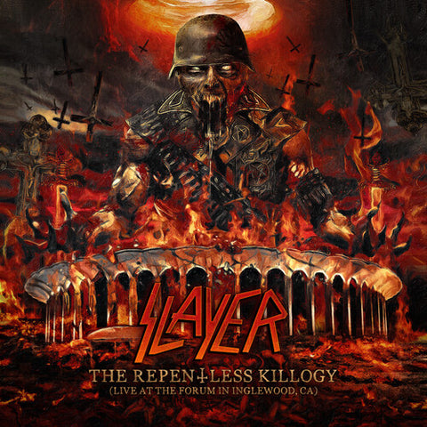 Slayer - Replentless Killogy (Live at the Forum) (Indie Exclusive Orange Black Vinyl)