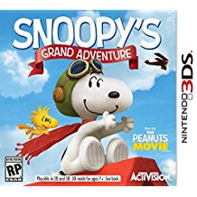 Snoopys Grand Adventure    NINTENDO 3DS