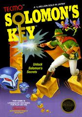 Solomons Key     NINTENDO ENTERTAINMENT SYSTEM
