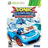 Sonic & All-Star Racing Transformed    XBOX 360