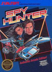 Spy Hunter DMG LABEL    NINTENDO ENTERTAINMENT SYSTEM