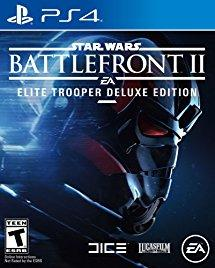 Star Wars Battlefront II Elite Trooper Deluxe Edition    PLAYSTATION 4
