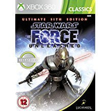Star Wars The Force Unleashed Ultimate Sith Edition (BC)    XBOX 360
