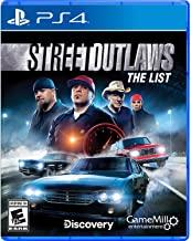 Street Outlaws    PLAYSTATION 4