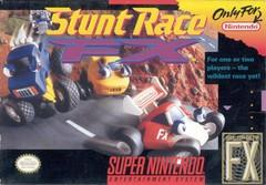Stunt Race FX DMG LABEL    SUPER NINTENDO ENTERTAINMENT SYSTEM