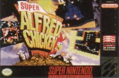 Alfred Chicken DMG LABEL    SUPER NINTENDO ENTERTAINMENT SYSTEM