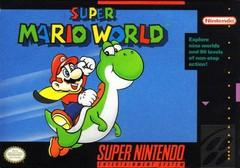 Super Mario World DMG LABEL    SUPER NINTENDO ENTERTAINMENT SYSTEM