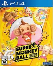 Super Monkey Ball Banana Blitz HD    PLAYSTATION 4