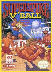 Super Spike VBall DMG LABEL    NINTENDO ENTERTAINMENT SYSTEM