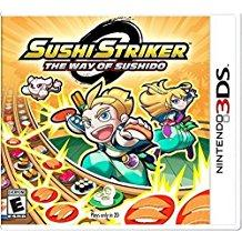 Sushi Striker The Way Of The Sushido    NINTENDO 3DS