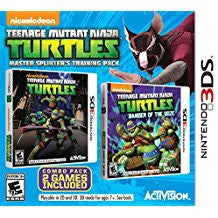 Teenage Mutant Ninja Turtles Master Splinters Training Pack    NINTENDO 3DS