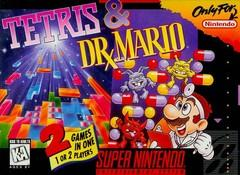 Tetris & Dr Mario DMG LABEL    SUPER NINTENDO ENTERTAINMENT SYSTEM