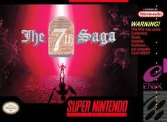 7th Saga    SUPER NINTENDO ENTERTAINMENT SYSTEM