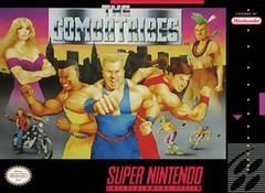 Combatribes DMG LABEL    SUPER NINTENDO ENTERTAINMENT SYSTEM