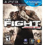 The Fight Lights Out    PLAYSTATION 3