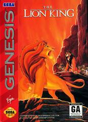 Lion King DMG LABEL    SEGA GENESIS