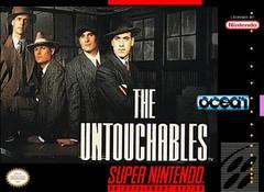 Untouchables DMG LABEL    SUPER NINTENDO ENTERTAINMENT SYSTEM
