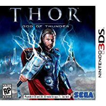 Thor God Of Thunder    NINTENDO 3DS