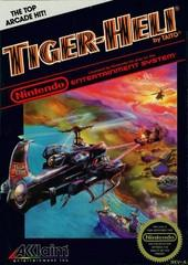 Tiger Heli DMG LABEL    NINTENDO ENTERTAINMENT SYSTEM