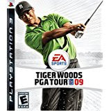 Tiger Woods PGA 09 DISC ONLY    PLAYSTATION 3