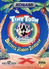 Tiny Toon Adventures Busters Hidden Treasure DMG LABEL    SEGA GENESIS