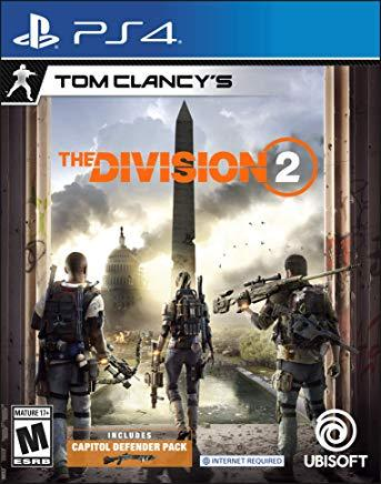 Tom Clancys The Division 2    PLAYSTATION 4