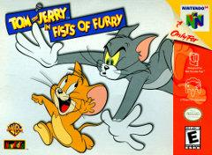 Tom & Jerry in Fists of Furry BOXED COMPLETE    NINTENDO 64