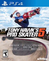 Tony Hawk Pro Skater 5    PLAYSTATION 4
