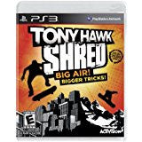 Tony Hawk Shred (software only)    PLAYSTATION 3