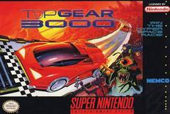 Top Gear 3000 DMG LABEL    SUPER NINTENDO ENTERTAINMENT SYSTEM
