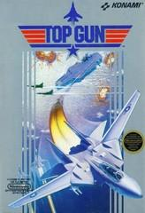 Top Gun DMG LABEL    NINTENDO ENTERTAINMENT SYSTEM