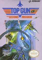 Top Gun The Second Mission DMG LABEL    NINTENDO ENTERTAINMENT SYSTEM