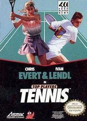 Evert and Lendl Top Players Tennis     NINTENDO ENTERTAINMENT SYSTEM