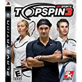 Top Spin 3 DISC ONLY    PLAYSTATION 3