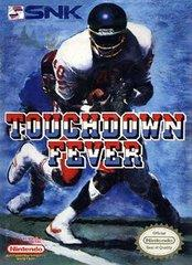 Touchdown Fever DMG LABEL    NINTENDO ENTERTAINMENT SYSTEM