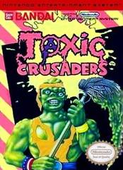 Toxic Crusaders DMG LABEL    NINTENDO ENTERTAINMENT SYSTEM