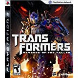 Transformers Revenge Of The Fallen    PLAYSTATION 3