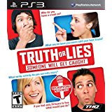 Truth or Lies DISC ONLY    PLAYSTATION 3