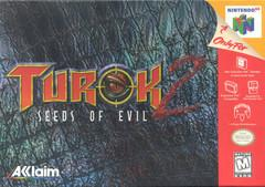 Turok 2 Seeds of Evil DMG LABEL    NINTENDO 64