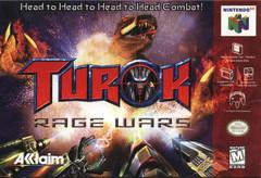 Turok Rage Wars DMG LABEL    NINTENDO 64