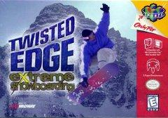 Twisted Edge Snowboarding BOXED COMPLETE    NINTENDO 64