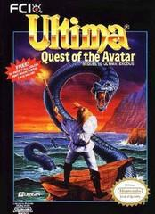 Ultima 4 Quest of the Avatar BOXED COMPLETE    NINTENDO ENTERTAINMENT SYSTEM