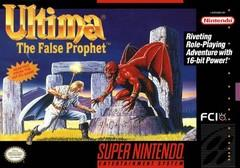 Ultima VI The False Prophet BOXED COMPLETE    SUPER NINTENDO ENTERTAINMENT SYSTEM