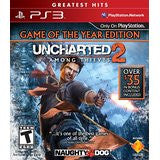 Uncharted 2 Game Of The Year    PLAYSTATION 3