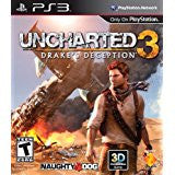 Uncharted 3 Drakes Deception    PLAYSTATION 3