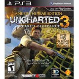 Uncharted 3 Game of the Year    PLAYSTATION 3