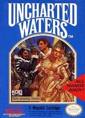 Uncharted Waters DMG LABEL    NINTENDO ENTERTAINMENT SYSTEM