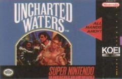 Uncharted Waters DMG LABEL    SUPER NINTENDO ENTERTAINMENT SYSTEM